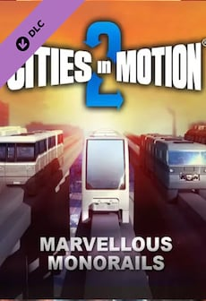 Cities in Motion 2 - Marvellous Monorails (PC) - Steam Key - RU/CIS