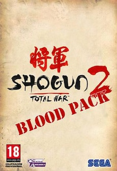 Total War Shogun 2 - Blood Pack DLC STEAM CD-KEY EU PC