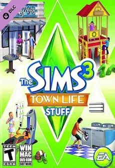 The Sims 3 Town Life Stuff Steam Gift GLOBAL