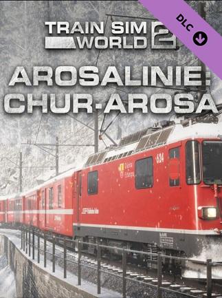 Train Sim World 2: Arosalinie: Chur - Arosa Route Add-On (PC) - Steam Gift - GLOBAL