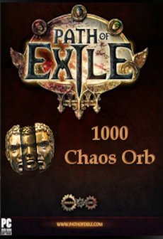 Path of Exile Chaos Orbs Code PC GLOBAL 1000