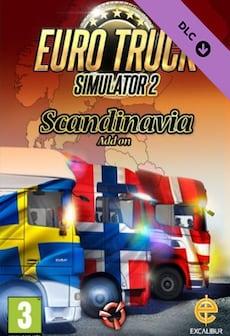 Euro Truck Simulator 2 - Scandinavia Steam Key RU/CIS фото