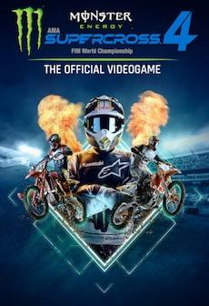 Monster Energy Supercross - The Official Videogame 4 (PC) - Steam Key - GLOBAL