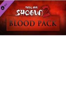 Total War: Shogun 2 - Blood Pack DLC STEAM CD-KEY GLOBAL PC