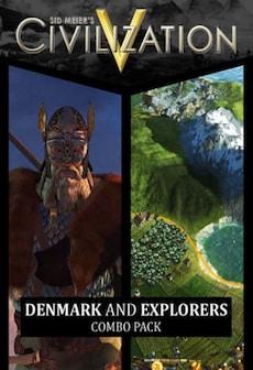 Sid Meier's Civilization V: Denmark and Explorer's Combo Pack Steam Key GLOBAL