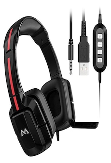 Image of PC Gaming Headset, Mpow USB Stereo Gaming Headset with Noise Canceling Mic & Volume Control