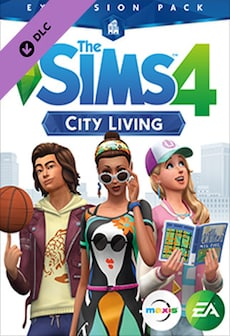 The Sims 4: City Living DLC ORIGIN CD-KEY GLOBAL PC