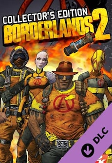 Borderlands 2 - Collector's Edition Pack Steam Key GLOBAL