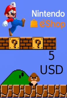 Image of Nintendo eShop Card 5 USD Nintendo NORTH AMERICA