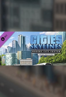 Cities: Skylines - Content Creator Pack: Modern City Center (DLC) - Steam - Key RU/CIS
