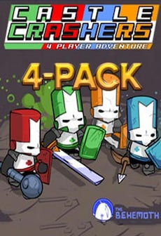 Castle Crashers 4-Pack Steam Key GLOBAL