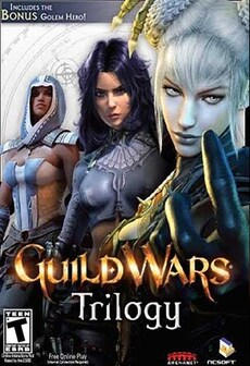 Guild Wars Trilogy STEAM CD-KEY EU PC