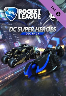 Rocket League - DC Super Heroes DLC Pack Steam Gift GLOBAL