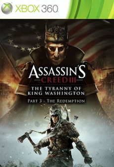 Assassin's Creed III: The Tyranny of King Washington - The Redemption XBOX LIVE Key GLOBAL