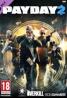 PAYDAY 2: Lycanwulf and The One Below Mask Key Steam GLOBAL фото