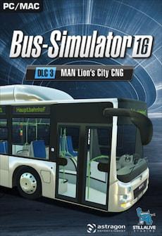 Bus Simulator 16 - MAN Lion's City CNG Pack DLC Steam Key GLOBAL