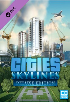 Cities: Skylines - Deluxe Upgrade Pack Key Steam GLOBAL