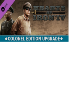 Image of Hearts of Iron IV: Colonel Edition Upgrade Pack Key Steam GLOBAL