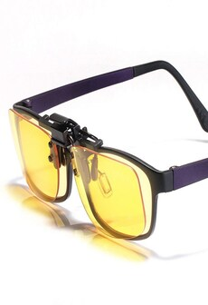 Image of KLIM OTG Glasses Clip on Eyeglass Eyewear to Block Blue Light - Gaming Glasses PC Mobile TV