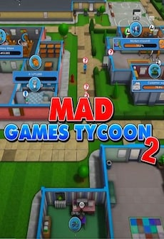 Mad Games Tycoon 2 (PC) - Steam Key - GLOBAL