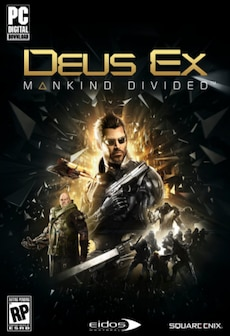 Deus Ex: Mankind Divided (PC) - Steam Key - GLOBAL