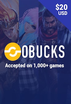oBucks Gift Card 20 USD - oBucks Key - GLOBAL