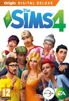 The Sims 4 Digital Deluxe Origin Key PC GLOBAL