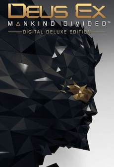 Deus Ex: Mankind Divided | Digital Deluxe Edition (PC) - Steam Key - GLOBAL