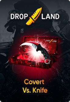 Counter-Strike: Global Offensive RANDOM BY DROPLAND.NET GLOBAL Code COVERT VS. KNIFE SKIN