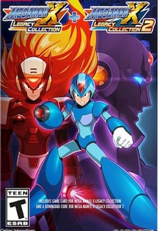 Mega Man X Legacy Collection 1+2 Bundle Steam Key GLOBAL