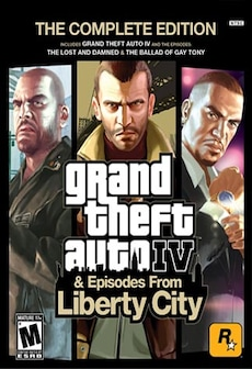 Grand Theft Auto IV Complete Edition Steam Key RU/CIS