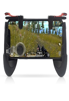 Image of Gamepad For Mobile Phone Game Controller Shooter Trigger Fire Button Joystick