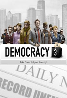 Democracy 3 Collector's Edition Steam Key GLOBAL