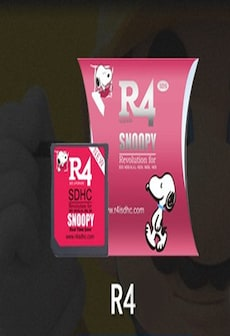 Image of 2020 R4 SDHC Game Card SNOOPY Limited Edition & USB Adapter Pink