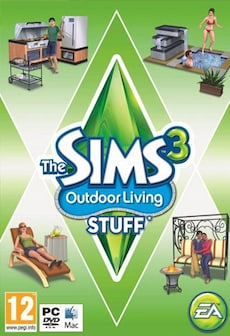 The Sims 3 Outdoor Living Stuff DLC STEAM CD-KEY GLOBAL PC