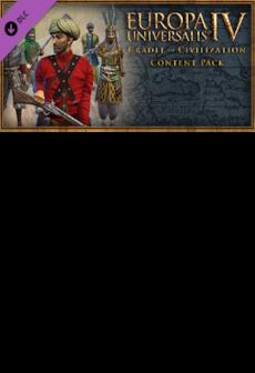 Content Pack - Europa Universalis IV: Cradle of Civilization DLC PC Steam Key GLOBAL