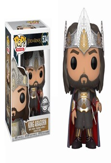 Image of Funko Pop! Vinyl: Filmy - The Lord of the Rings - Aragorn 2
