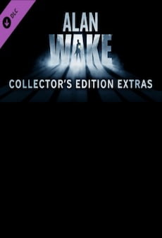 Alan Wake Collector's Edition Extras Key Steam GLOBAL
