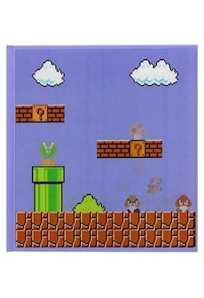 Image of Super Mario Bros 3D Motion Blue Notebook