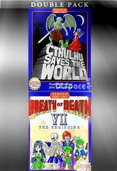 Cthulhu Saves the World & Breath of Death VII Double Pack Steam Key GLOBAL
