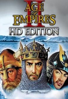 Age of Empires II HD + The Forgotten Expansion + The African Kingdoms Expansion + The Rise of the Rajas Expansion Steam Key GLOBAL