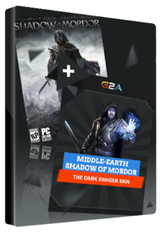 Middle-earth: Shadow of Mordor + The Dark Ranger Skin Key Steam GLOBAL