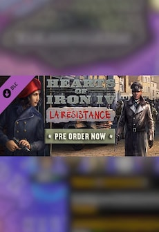 Hearts of Iron IV: La Résistance (DLC) - Steam - Key RU/CIS