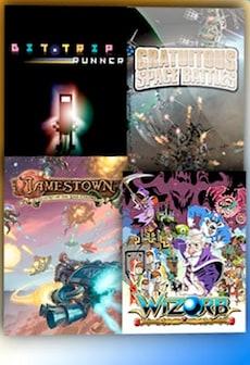 BIT.TRIP RUNNER + Gratuitous Space Battles + Jamestown + Wizorb CD Steam Key GLOBAL