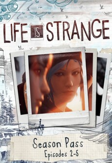 Life is Strange Season Pass (Episodes 2-5) Steam Key RU/CIS