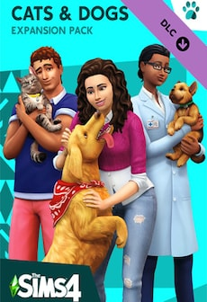 The Sims 4: Cats & Dogs (PC) - Steam Gift - GLOBAL