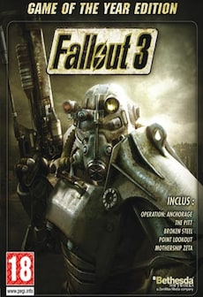 Fallout 3 - Game of the Year Edition Steam Gift GLOBAL