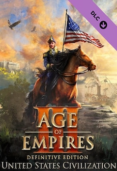 Age of Empires III: Definitive Edition - United States Civilization (PC) - Steam Key - GLOBAL
