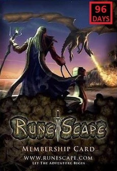 RuneScape Membership Timecard 96 Days (PC) - Runescape Key - GLOBAL