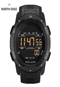 Image of Mars Men Digital Watch Men's Military Sport Watches Waterproof 50M Pedometer Calories Stopwatch Hourly Alarm Clock Black